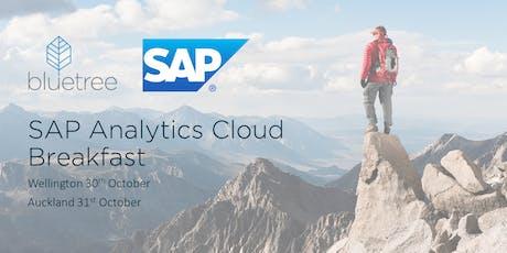 SAP Analytics Cloud Breakfast - WEL tickets