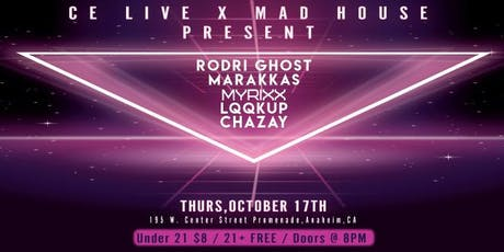 CE LIVE X MAD HOUSE THURSDAY'S tickets
