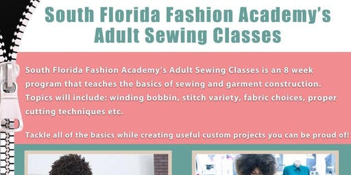 South Florida Fashion Academy's Adult Sewing Classes