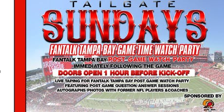 Tailgate Sundays Buccaneers Watch Party tickets