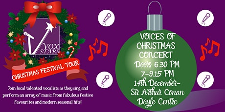 Vox Stars Voices Of Christmas Concert tickets