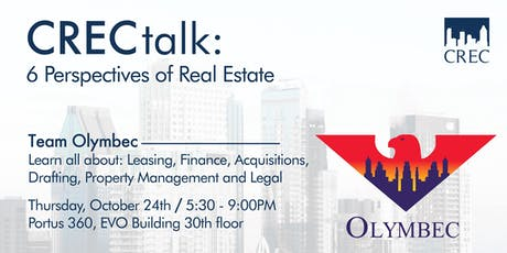 CRECtalk: 6 Perspectives of Real Estate tickets