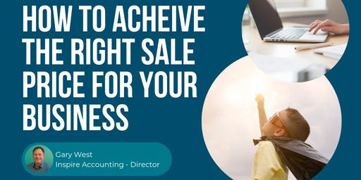 How to achieve the right sale for business