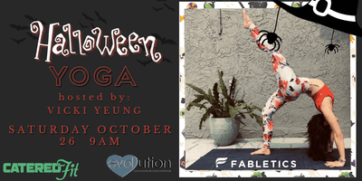Halloween YOGA hosted by Vicki Yeung