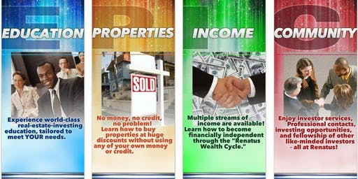 Invest in Real Estate: Buy, Flip, Lease & Manage Property: Training, Income, Community (ATL)