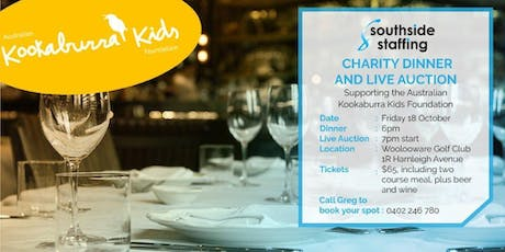 Southside Staffing Charity Dinner & Golf Day Event tickets