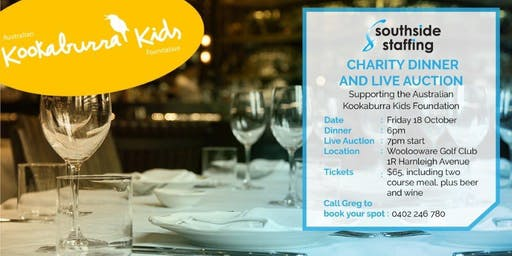 Southside Staffing Charity Dinner & Golf Day Event