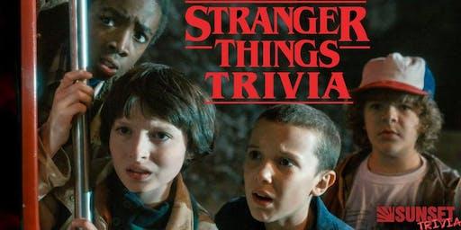 Stranger Things Halloween Trivia! (Hermosa Beach)