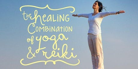 Release Your Throat and Heart Energy Centres with Yoga, Reiki and Sound.  tickets