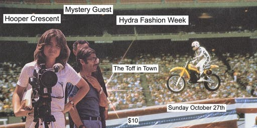 HOOPER CRESCENT, HYDRA FASHION WEEK + MYSTERY GUEST