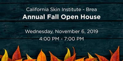 Brea Annual Fall Open House