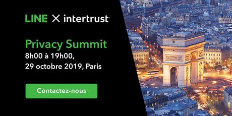 LINE X Intertrust: Privacy Summit Fall 2019 billets