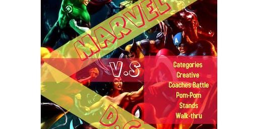 Marvel V.S. DC Dance Down