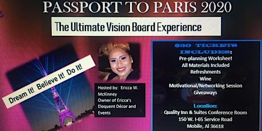 PASSPORT  2020 VISION BOARD PARTY