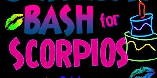Scorpio Birthday Bash