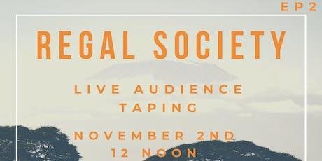 Regal Society Dance/Talk show tickets