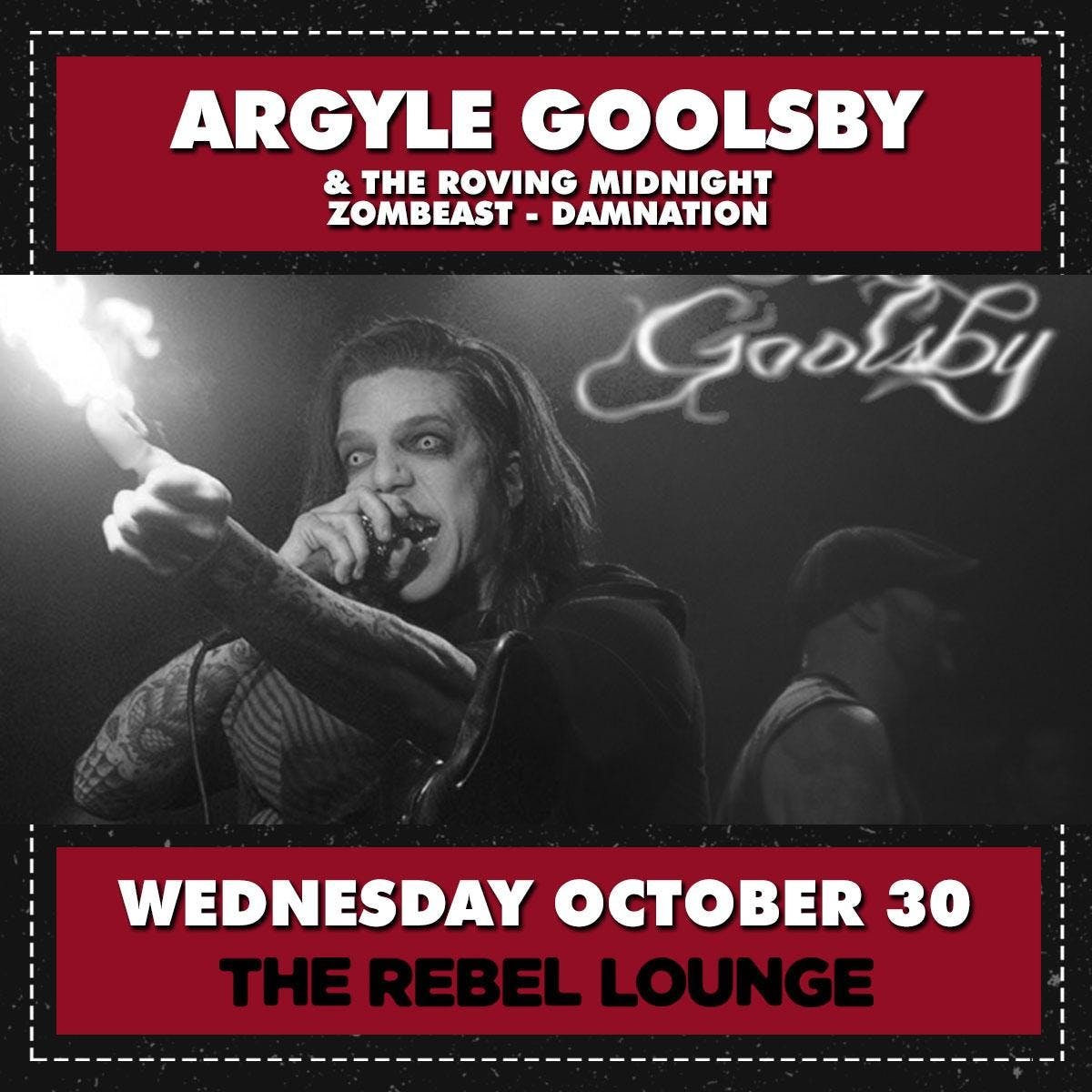 ARGYLE GOOLSBY & THE ROVING MIDNIGHT