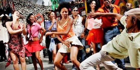 Soirée latine - Cours de salsa billets