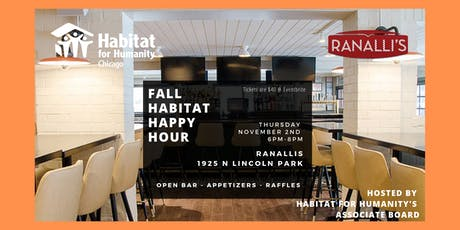 Fall Habitat for Humanity Happy Hour! tickets
