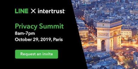 LINE X Intertrust: Privacy Summit Fall 2019 billets