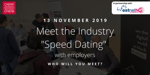 "Meet the Industry ""Speed Dating"" with Employers 2019"