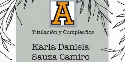 Titulación y  Cumpleaños Karla S
