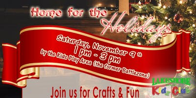 Lakeshore Mall Kidz Club - Home for the Holidays
