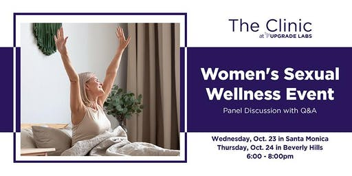 Women's Sexual Wellness Event @ Santa Monica