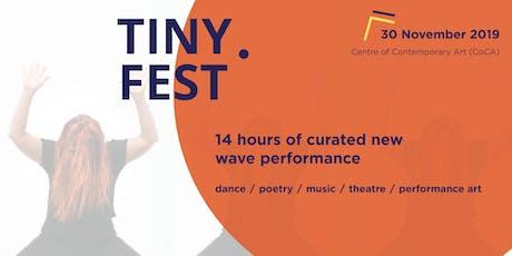 Ōtautahi Tiny Performance Festival tickets