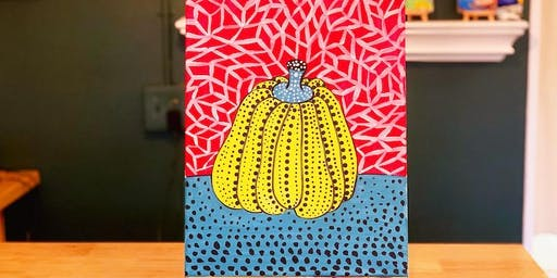 THINGS TO DO -PAINT & SIP: PUMPKIN
