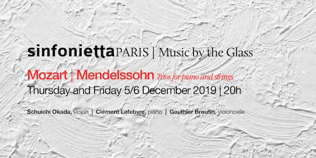 ⟪Music by the Glass⟫ December series: Friday, 6 December 2019 | 8pm billets