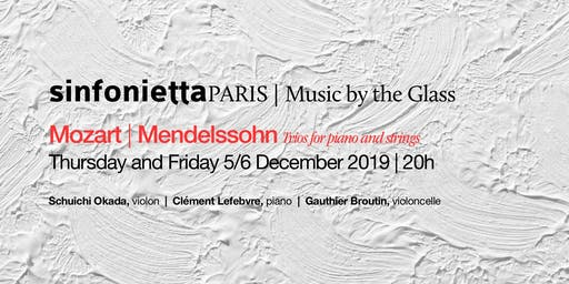 ⟪Music by the Glass⟫ December series: Friday, 6 December 2019 | 8pm
