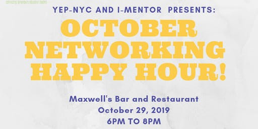 YEP-NYC and iMentor Presents: October Happy Hour!