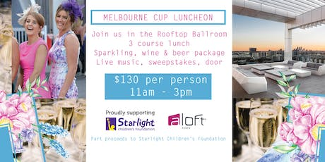 MELBOURNE CUP LUNCHEON - ALOFT PERTH tickets
