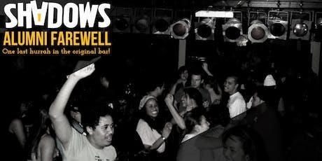 Shadows Alumni Farewell tickets