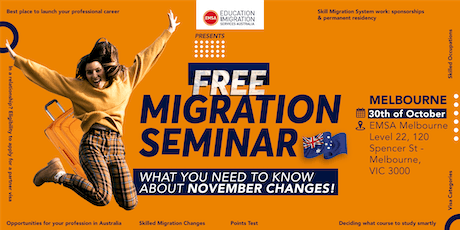 Free Migration Seminar Melbourne (October 2019) tickets