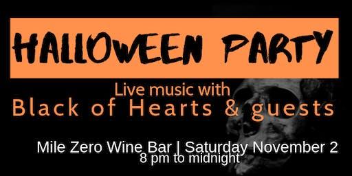 Live Music Halloween Party @ Mile Zero Wine Bar