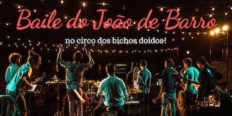 Baile do João de Barro no Circo dos Bichos Doidos! ingressos