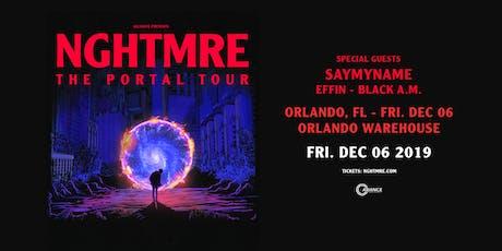 Alliance Presents: NGHTMRE - The Portal Tour - Orlando, FL tickets