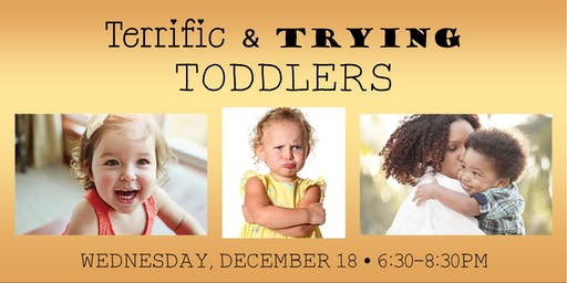 Terrific & Trying Toddlers