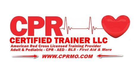 Adult And Pediatric First Aid / CPR / AED Certification Class tickets