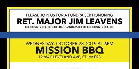 Fundraiser for Jim Leavens for Lee County Sheriff