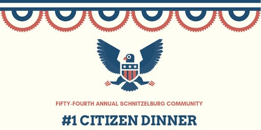 The 54th Annual  #1 Citizen Dinner