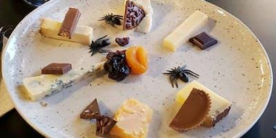 Halloween Chocolate, Cheese & Wine Pairing!