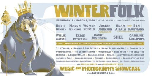Winter Folk: Buy One Pass, Get One FREE on October 10th Only