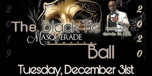 "The Black Tie  Masquerade Charity Ball ""2019"""