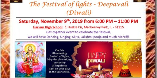 2019 Deepavali /Diwali Celebration organized by IAGR