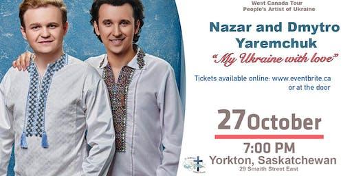 "Dmytro and Nazariy Yaremchuk  ""My Ukraine is a big family"""