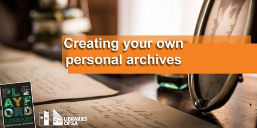 Creating your own personal Archives
