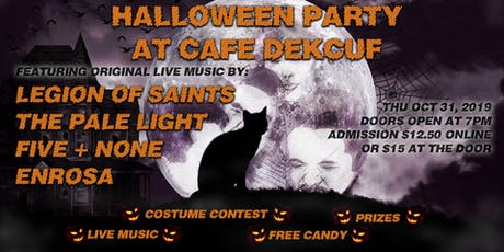 Halloween Party at Cafe Dekcuf tickets